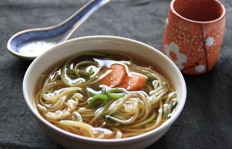 Quick Japanese Soup, gluten free