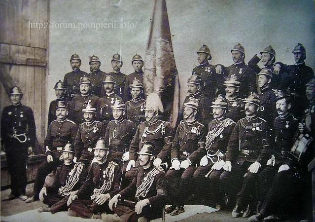 Formaţia de pompieri din Baia de Criş