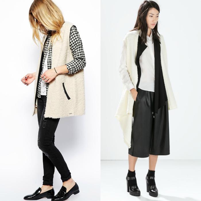 abrigos sin mangas