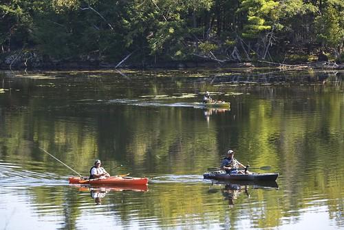 ontario kayak fishin lanark upperrideaulake tayvalley murphyspointprovincialpark