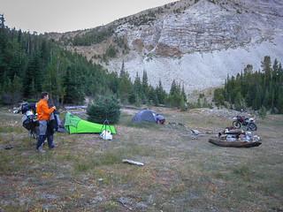 Making camp*