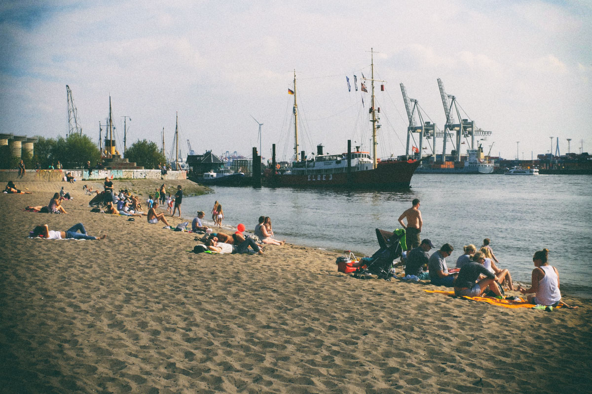 Elbstrand in Övelgönne