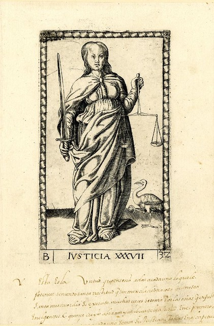 013-Justicia-Tarot Mantegna-© The Trustees of the British