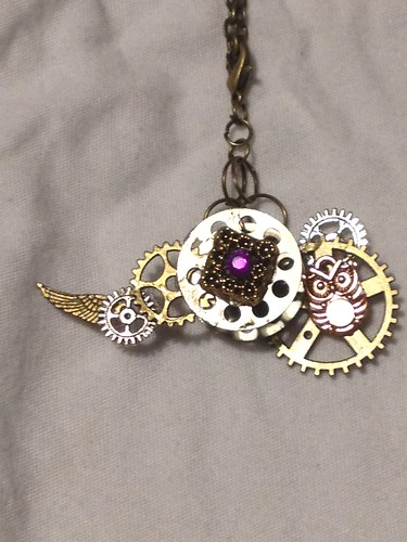 steampunk gothic victorian Industrial charmbreacelets charmnecklaces