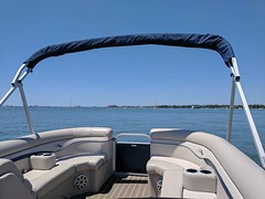 Too beautiful to not take the @bennypontoons out #FloridaLife