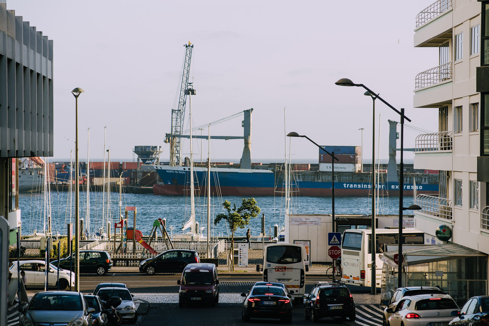 Ponta Delgada kikötő