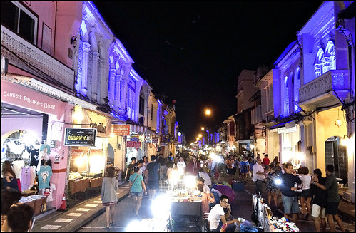 Walking Street Market in Phuket Town