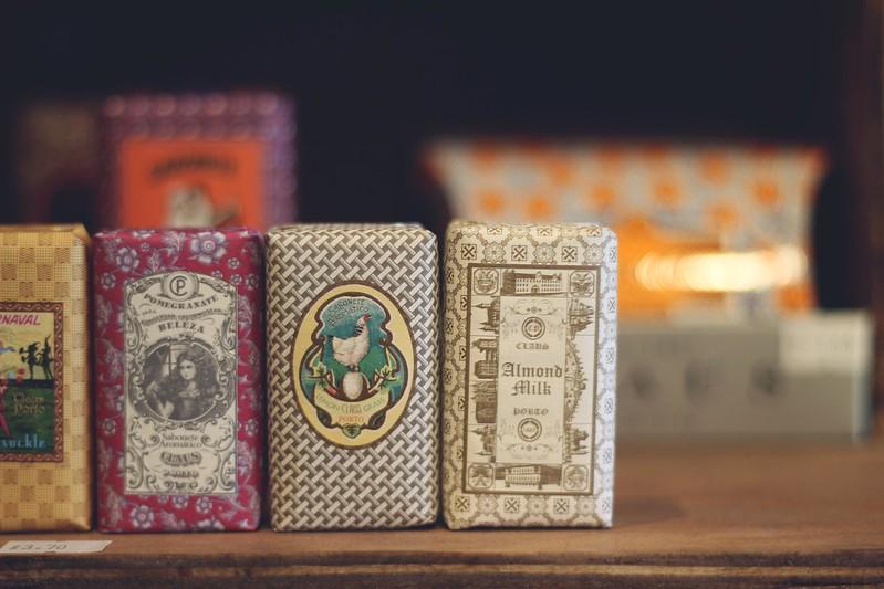 claus porto soap collection