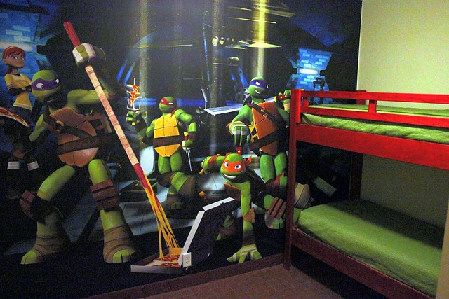 Teenage Mutant Ninja Turtles Retro Weekend at Nick Hotel