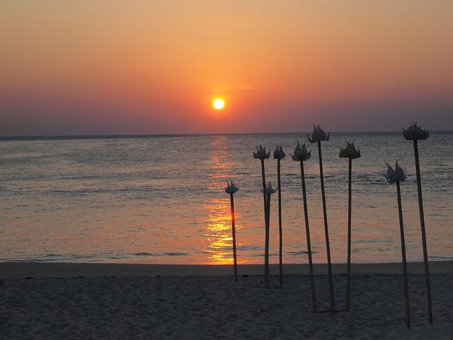 Sunset at Sri Lanta Resort, Koh Lanta