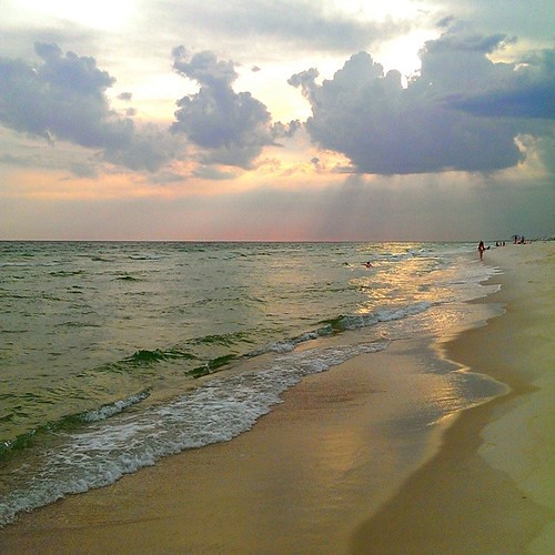 sunset beach gulfofmexico nature sunshine clouds square florida squareformat pcb cloudporn panamacitybeach panhandle instagramapp uploaded:by=instagram htcone foursquare:venue=5297b1f211d297493b6caa0a