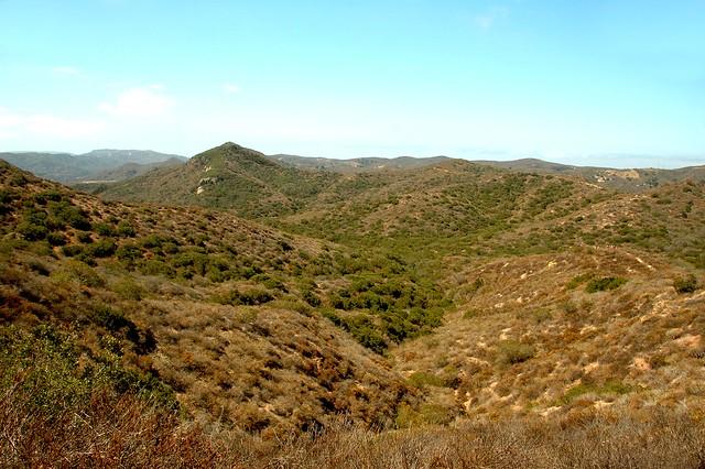 The Laguna Coast Side of the Serrano Trail