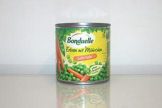 15 - Zutat Erbsen & Möhren / Ingredient peas & carrots