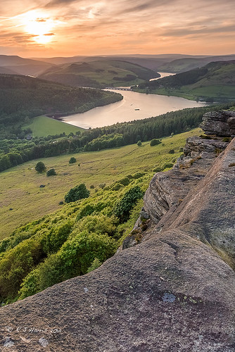 sunset landscape nationalpark dusk derbyshire peakdistrict goldenhour ladybower bamford bamfordedge leefilters 1635mm28lii canon1dx