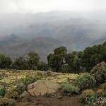 Entering the Simien Mountains of Ethiopia