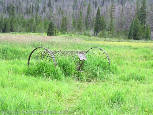 An old dump rake, Holzwarth Historic Site, Rocky Mountain National Park, Colorado