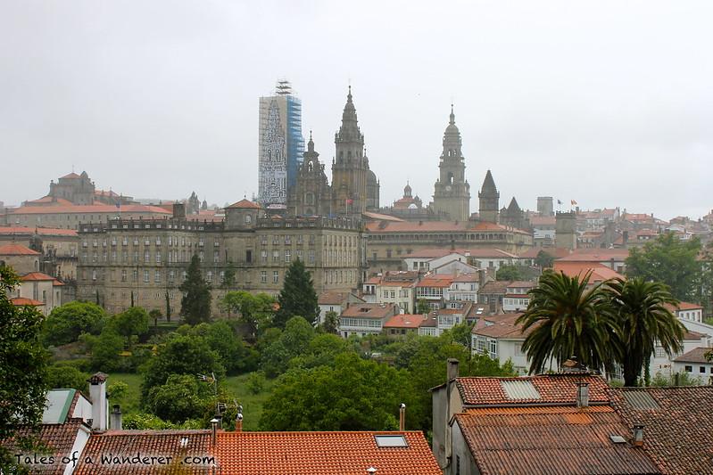 SANTIAGO DE COMPOSTELA - Parque de la Alameda - Catedral de Santiago de Compostela