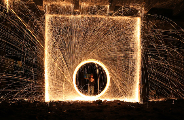 Steel wool definition meaning for Light art definition