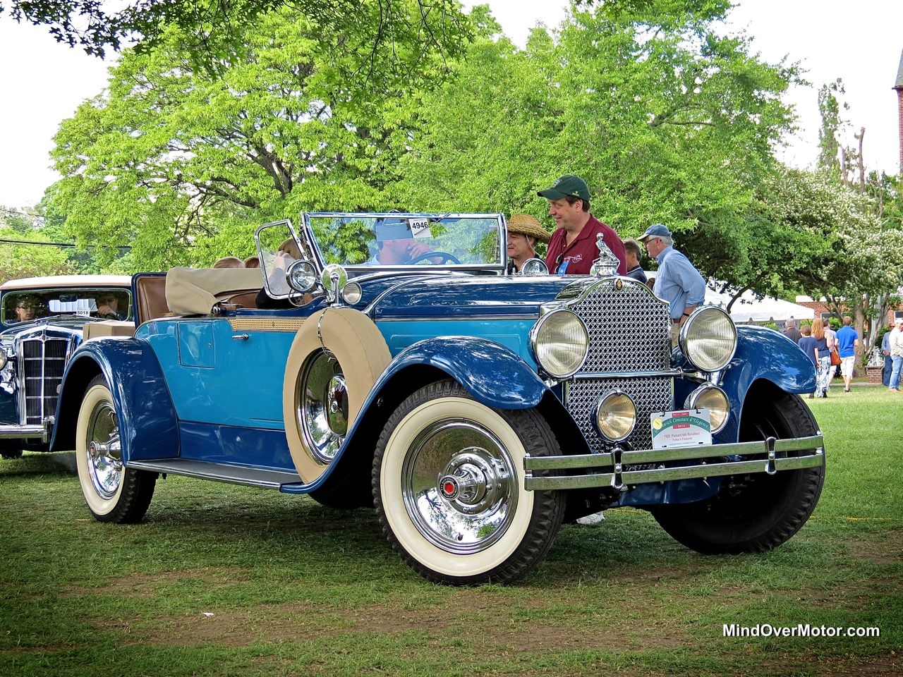1929 Packard 640 Runabout at the Greenwich Concours d'Elegance