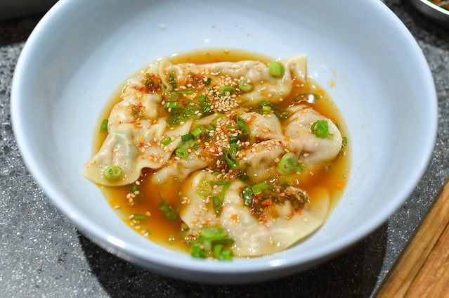 KAT MAN DOO Steamed Dumplings, Dipping Sauce