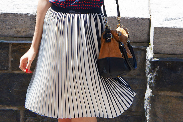 j.crew pleat skirt