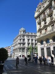 Plaza Isabel la Catolica (aka La Plaza de Colon (Columbus Square) - Granada, Spain