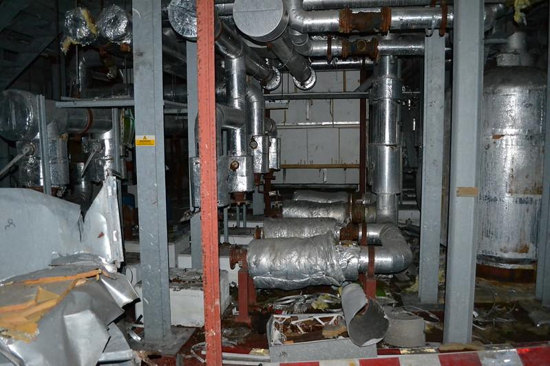 Office building boiler room