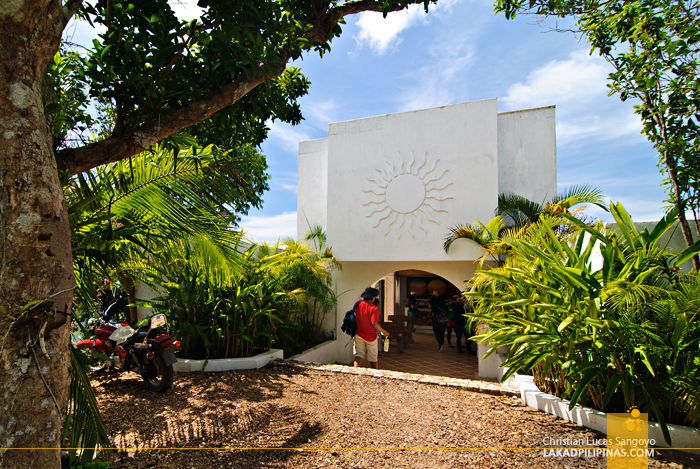 The Entrance to Puerto Del Sol Resort in Palawan