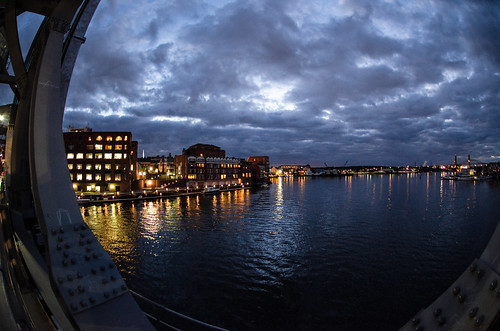 travel usa skyline night nikon cloudy newengland newhampshire fisheye portsmouth 105mmf28gfisheye piscataquariver d7000nikkor