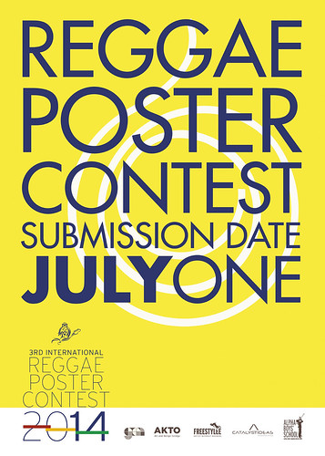International Reggae Poster Contest Call for Entries, 2014