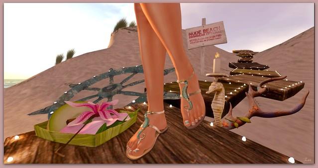 Summer Sands, Summer Sandals