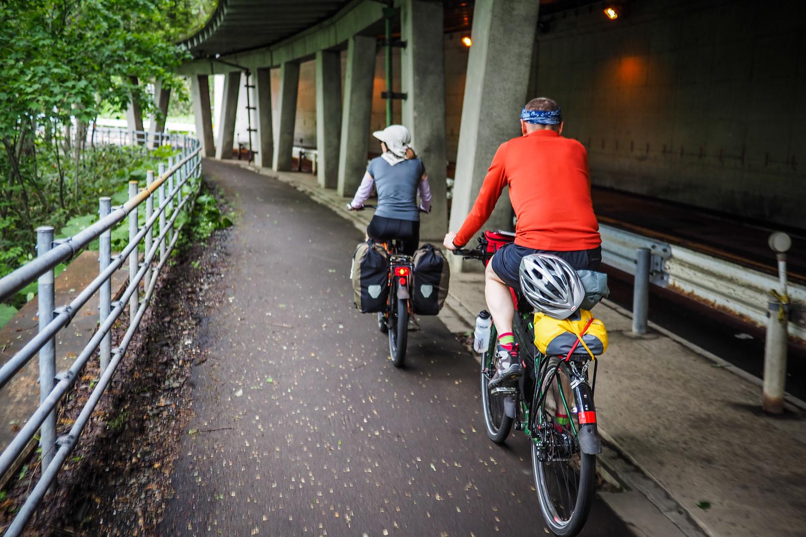 Lake Shikotsu Cycling Road (Sapporo, Japan)