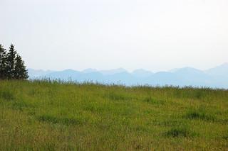 Berge in der Ferne