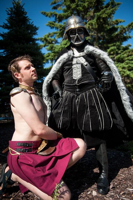 Darth Shakespeare and Slave Leo