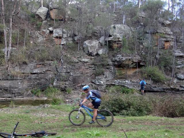 Rock Formation, Lagoon Creek