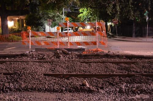 Third Street barricade