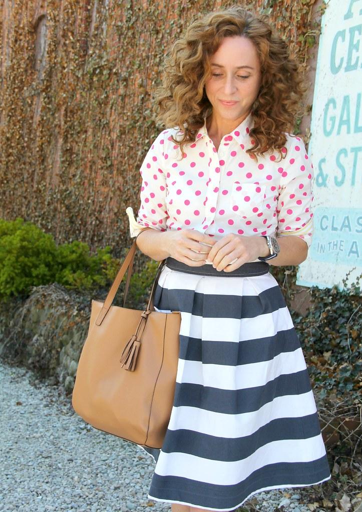 modest summer outfit via Kristina J blog