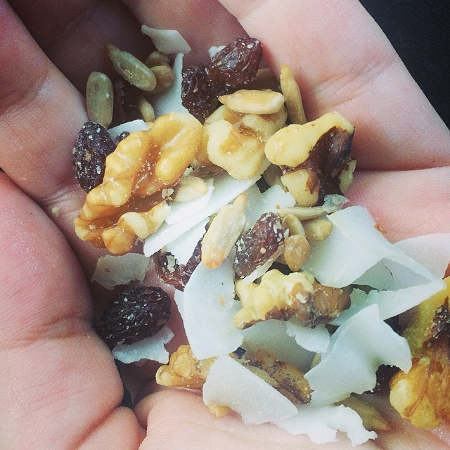 Day 11, #Whole30 - snack (trail mix)