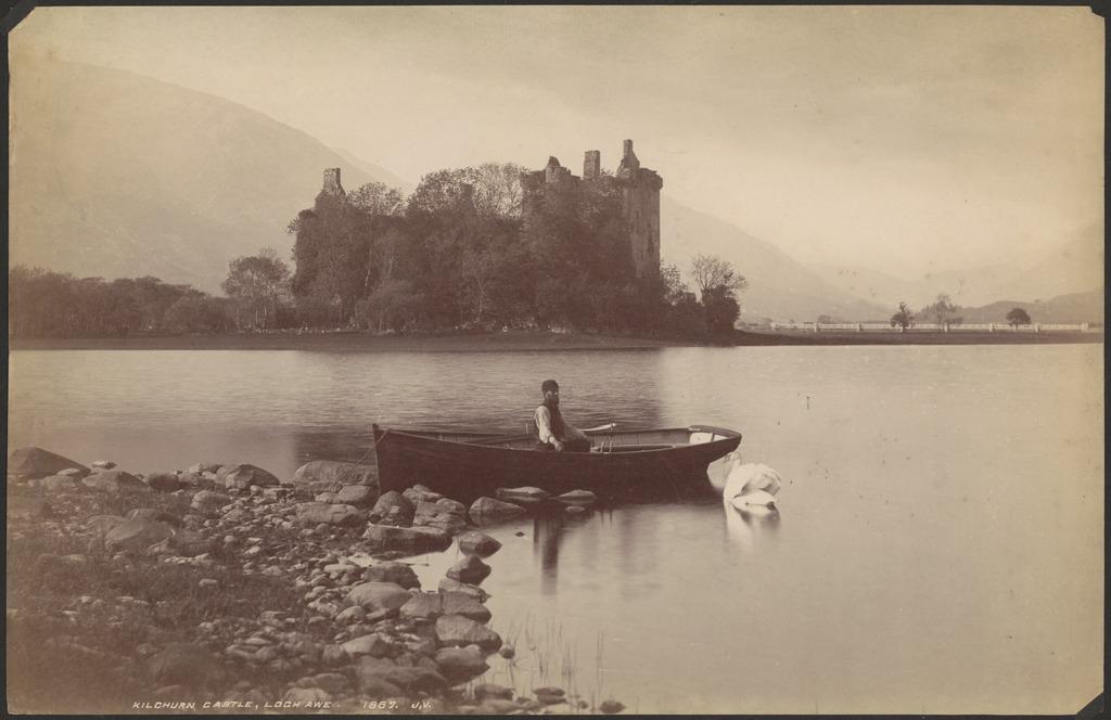 Kilchurn Castle, Loch Awe, [Scotland]