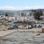 June 25 - The CUP (Central Utility Plant) takes shape