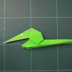 วิธีพับกระดาษเป็นรูปหอยทาก (origami Snail) 022