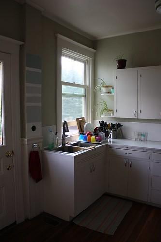 Before: Kitchen, Southwest Corner
