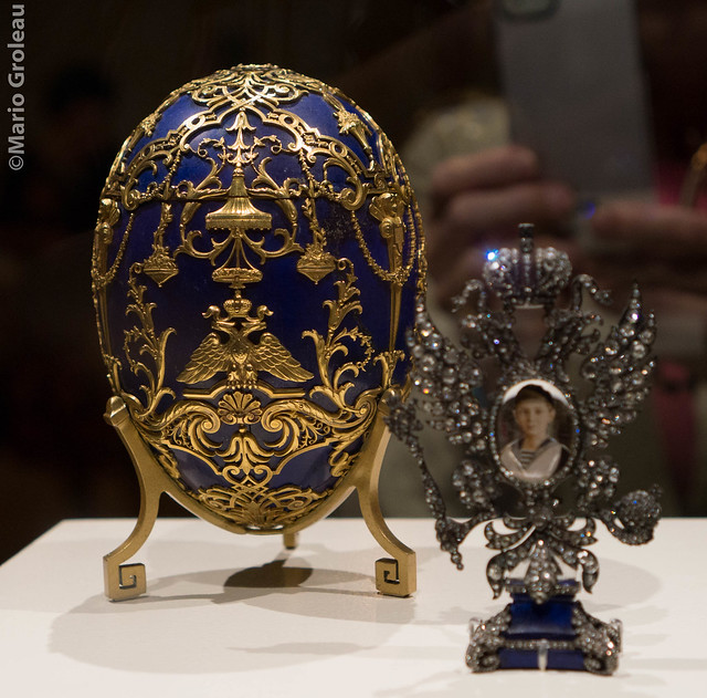 Oeuf Fabergé au MBAM  (Photo 3)