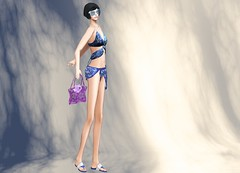 ArisAris - Ocean Blue Beach Outfit