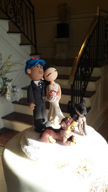 AL_Wedding cake topper