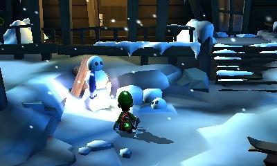 Luigi's Mansion 2 - bonhomme de neige
