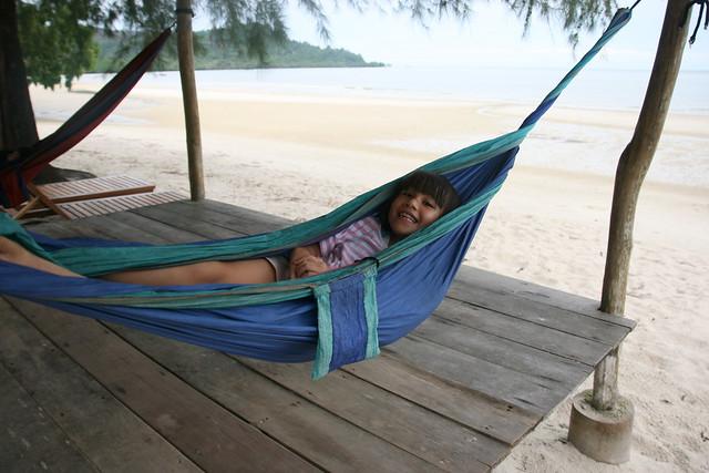 Nothing beats bliss in a hammock!