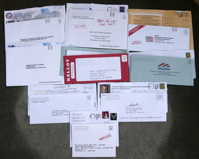 Other political junk mail