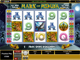 Mark of Medusa Free Spins Feature