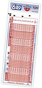Lotto 6/49 Kupon Örneği